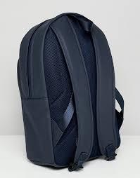 Темно-синий прорезиненный <b>рюкзак BOSS Pixel</b> R | ASOS