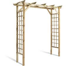 Fabriquer Arche De Jardin En Bois Maison Galerie D Id Es