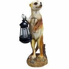 new solar light meerkat garden lighting