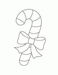 Small Picture Get This Easy Preschool Printable of Candy Cane Coloring Page 13949