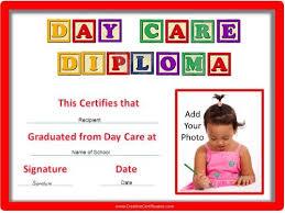 Prek Diploma Preschool Certificates