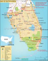 popular  list south florida map