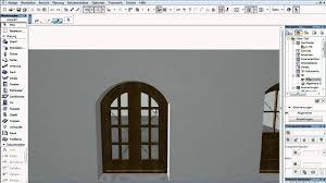 Archicad 15 46 überarbeitung Der Fenster Und Türen Youtube