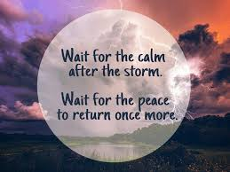 Calm After The Storm Quote Quotes Pinterest Quotes Storm Simple After The Storm Quotes