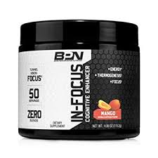 bare performance nutrition in focus cognitive enhancer thermogenic nootropic energy
