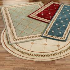4 foot round rugs x 8 ft wide
