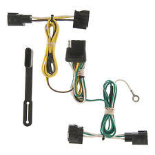 trailer wiring harness curt custom vehicle to trailer wiring harness 55363 for 1998 2006 jeep wrangler