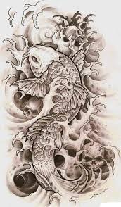 45 карточек в коллекции эскизы татуировок карпа кои пользователя