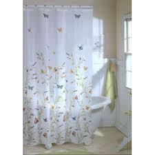 garden flight erfly eva shower curtain