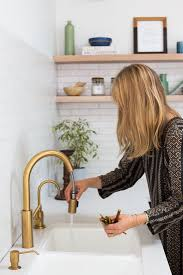 pull kitchen faucet color: newport brass nb   east linear pull down kitchen faucet