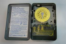 intermatic time switch single pole single throw 40amp 2hp 120v ac intermatic time switch single pole single throw 40amp 2hp 120v ac 5hp t101