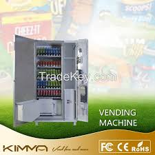 Vending Machine Coin Changer Awesome Automated LCD Screen All In Line Cold Drinks Food Snack Vending