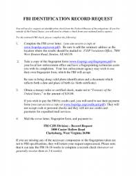 Cover Letter Police Record Request Lettervolunteer Police Clearance