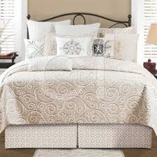 92 best ágyak images on Pinterest | Master bedrooms, Bedroom ideas ... & Montpellier Quilts | White and Beige Quilts & Accessories C | Modern Crewel  Bedding, Quilts Adamdwight.com