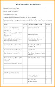 Financial Statement Excel Template Infekt Me