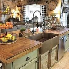 100 Country Style Kitchen Ideas for 2018 Rustic country kitchens