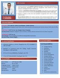 Modern Resume Examples Professional Modern Resume Templates Teacher