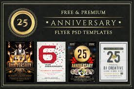 25 Anniversary Flyer Psd Templates Free Premium Designyep