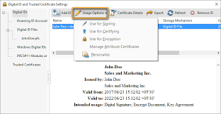 How To Do A Signature Digital Ids In Acrobat