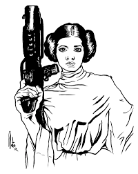 Star Wars Leia Coloring Pages Download And Print For Free