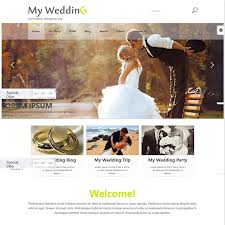 Wedding Wordpress Theme 20 Elegant And Chic Best Free Wedding Wordpress Themes For 2018