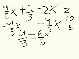 homework helper math solving for x fractions  homework helper math solving for x fractions