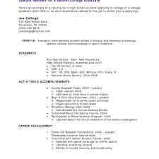 Recent College Graduate Resume Shockinge Grad Resume Examples New Graduate No Degree Sample 65
