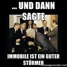 Und dann sagte Immobile ist ein guter Stürmer - Rich Men Laughing ... via Relatably.com