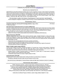 Senior Resume Template A Resume Template For A Senior Level Administrator You Can Download