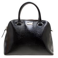 kate spade black patent leather cameron street satchel nextprev prevnext