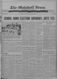 The Malakoff News March 8, 1968: Page 1