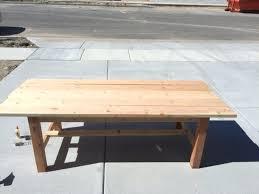 diy table bench supplies for your farmhouse table