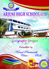 School Cover Page Design School Project Design For Front Page Picture Density