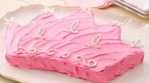 Princess Crown Cake Recipe Bettycrockercom