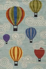 My Hot Air Balloon Rug by Momeni RosenberryRoomscom