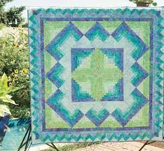Friday Free Quilt Patterns: Caribbean Blue - The Quilting Company & Gather up your batiks to create this week's Friday FREE quilt pattern,  Caribbean Blue. Inspired by the colors of the ocean of her favorite  Caribbean beach, ... Adamdwight.com