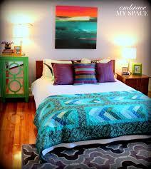 Peacock Color Bedroom An Evil Eye For Design Marrakesh By Design