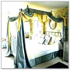 Beds With Canopy Bed Drapes Curtains For From Ceiling Ikea ...