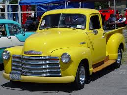 1951 Chevrolet - Pickup - Yellow - Front Angle - 1280x960 ...