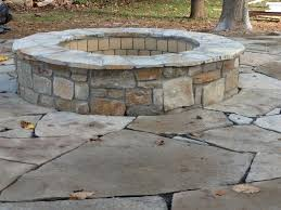 flagstone landscaping. Fire Pit Traditional-landscape Flagstone Landscaping