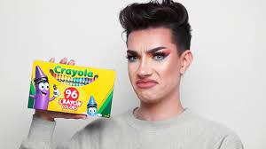 crayola crayons makeup review