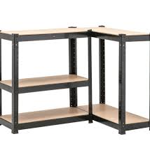 metal storage shelves. 5 tier heavy duty boltless metal black shelving storage shelves