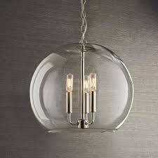 shades of light lighting. clear glass sphere chandelier shades of light lighting