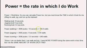 how horsepower works unit 5 work power and horsepower youtube
