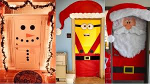 21 Idées Pour Décorer Votre Porte Du0027entrée Aux Couleurs De Noël