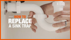 how to replace a sink trap plumbing