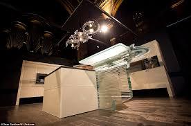 illuminating the 1m kitchen comes with a 26 000 swarovski chandelier