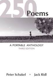 poems a portable anthology edition by peter schakel jack  250 poems a portable anthology edition 3