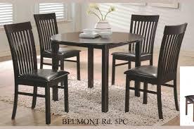 cb belmont rd 5pc 5 pc belmont espresso finish wood 42 round