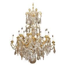 antique ormulu all original baccarat crystal chandelier chc33 for